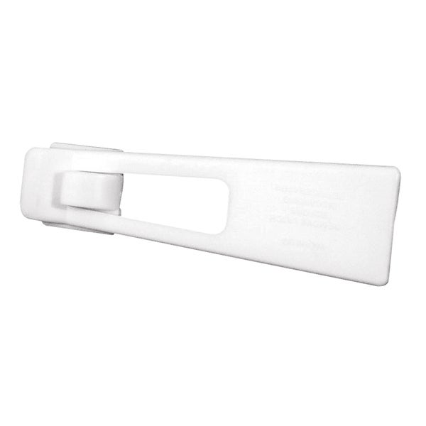 Prime Line S4556 White Self-Latching Appliance Door Lock