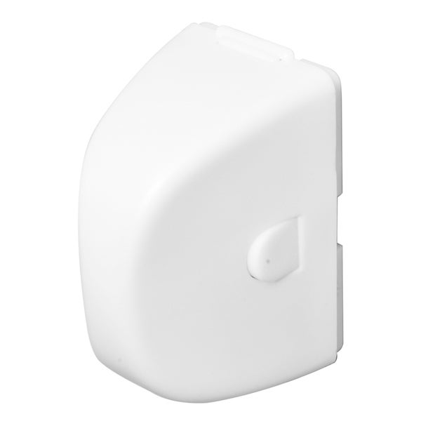 Prime Line S4555 White In-Use Electrical Outlet Plug Cover (Set of 2)