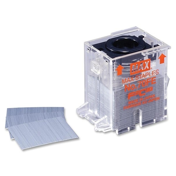 MAX EH70F Staple Cartridges - Silver (5000/Box)