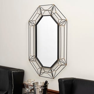Household Essentials Large Wire Frame Wall Mirror