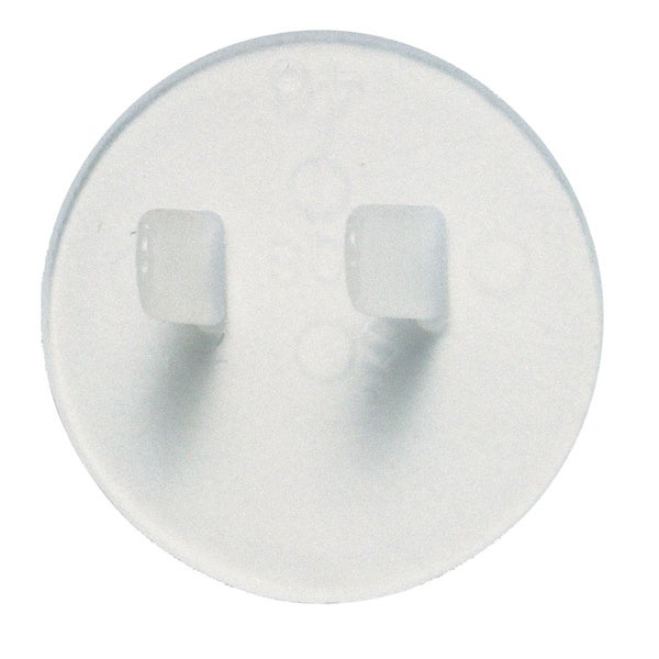 Leviton C20-12777-000 White Safety Outlet Cap (Pack of 5)