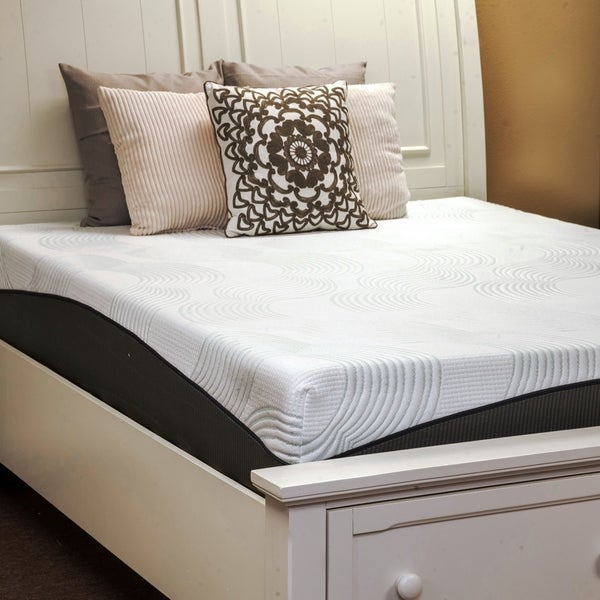 Harmony by Integrity Bedding Sleep-o-nomics 10-inch Queen-size Memory Foam Mattress