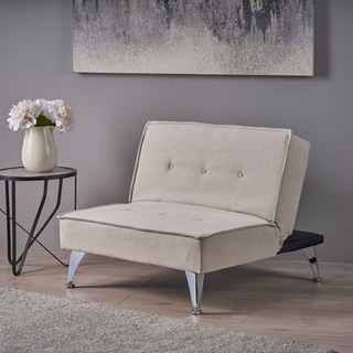 Christopher Knight Home Gemma Fabric Oversized Convertible Ottoman Chair