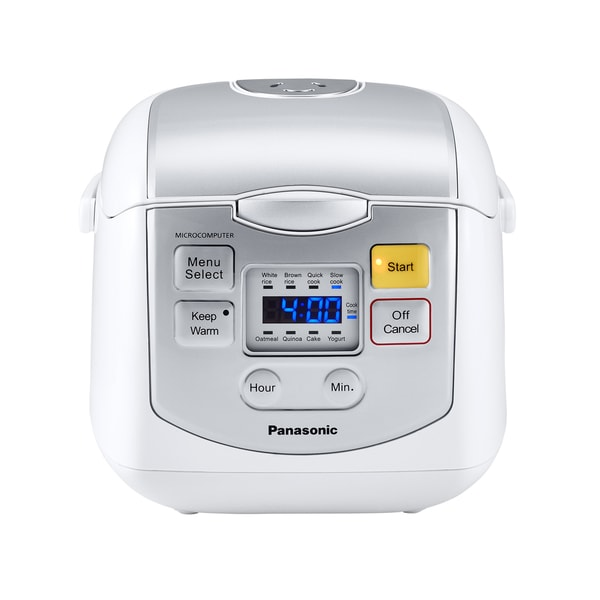 Panasonic 4-Cup Mircocomputer Rice Cooker White 19565353