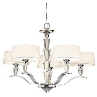 Kichler Lighting Crystal Persuasion Collection 5-light Chrome Chandelier