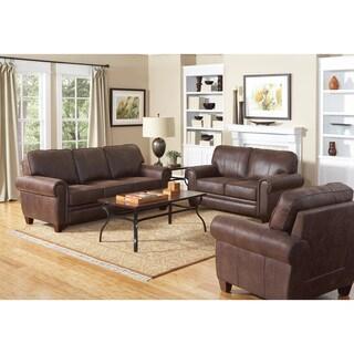 Brown Microfiber Sofa or Loveseat
