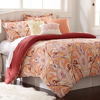 Paisley Cotton 6-piece Comforter Set