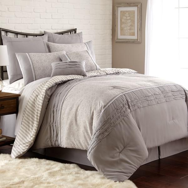 Amraupur Overseas Camila Pleated 8-piece Comforter Set 19568103