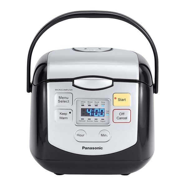 Panasonic 4-Cup Mircocomputer Rice Cooker Black 19568244
