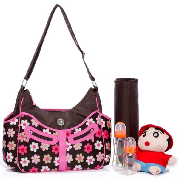 Colorland Vicky Hobo Diaper Bag in French Flower