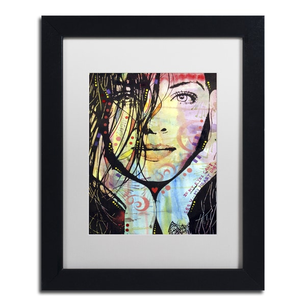 Dean Russo 'My Eyes Cant See U' Matted Framed Art