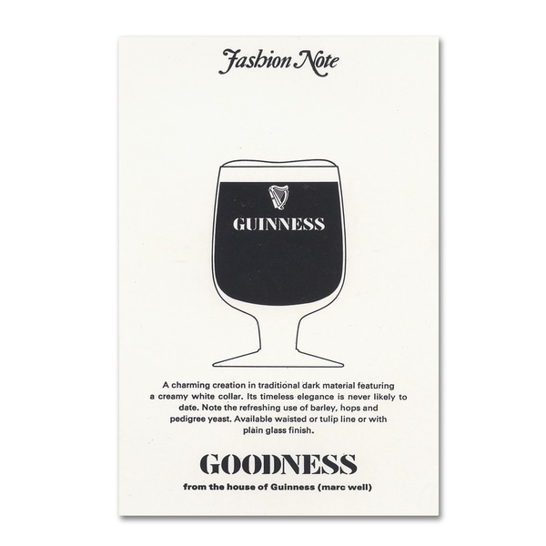 Guinness Brewery 'Goodness' Canvas Art