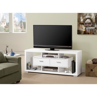 Double Drawer TV Console