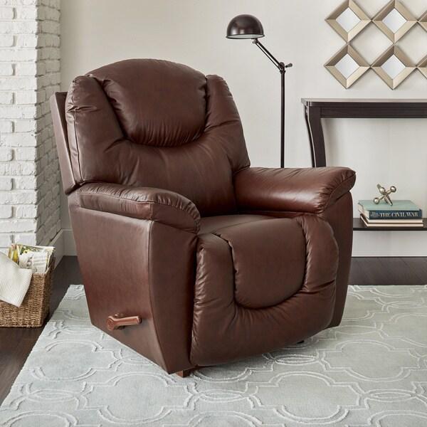 La Z Boy Ace Brown Leather Recliner