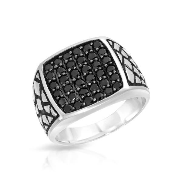 Currency Sterling Silver 1 1/2ct TDW Diamond Ring