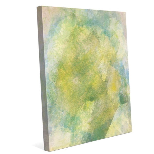 Chartreuse Flame Graphic on Canvas