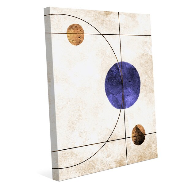 The System Indigo Graphic on Canvas