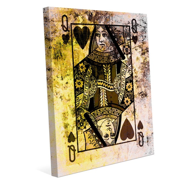 The Queen of Hearts Graphic on Canvas