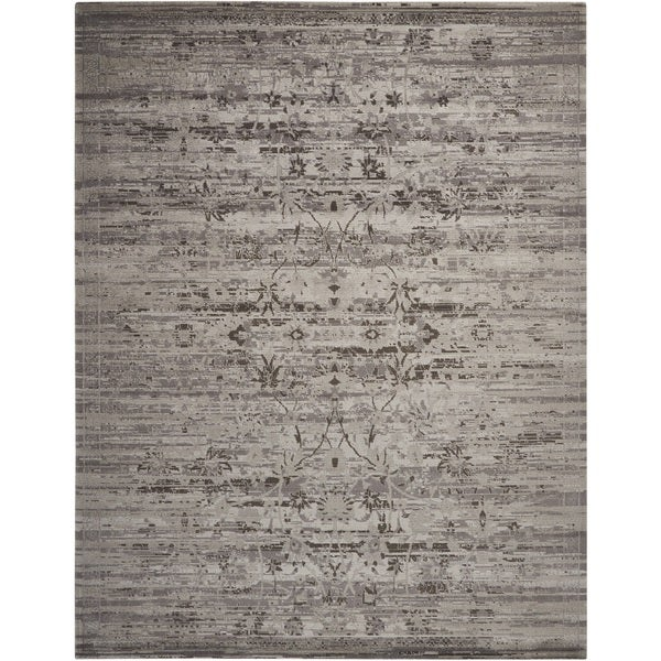 Nourison Twilight Silver Area Rug (12' x 15')