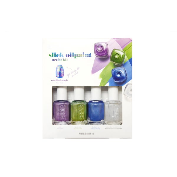 Essie Slick Oil Paint 4-piece Nail Polish Collection