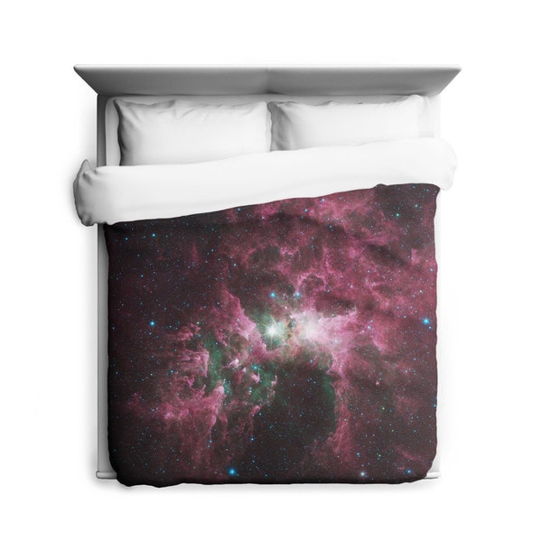 Sharp Shirter The Tortured Clouds of Eta Carinae Galaxy Duvet Cover