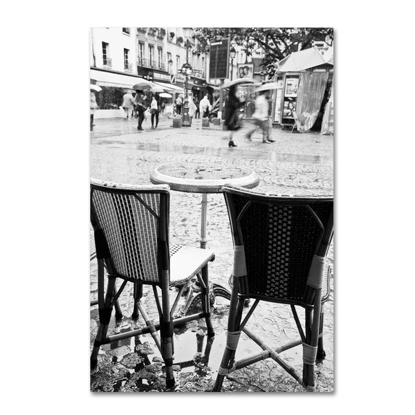 Yale Gurney 'Paris Cafe for 2' Canvas Art