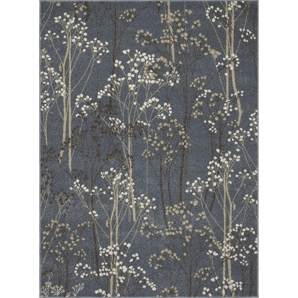 """Contempra Collection Birches Polypropylene Rug (2'7 x 4'1) - 2'7"""" x 4'1"""" 19580783"""
