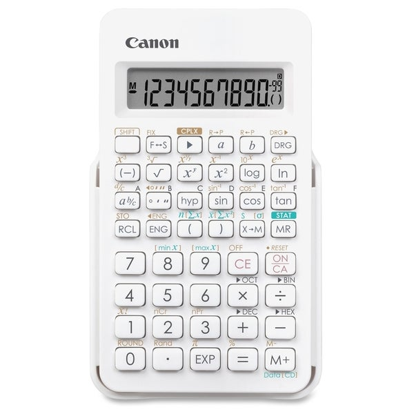 Canon F-605 Scientific Calculator - White