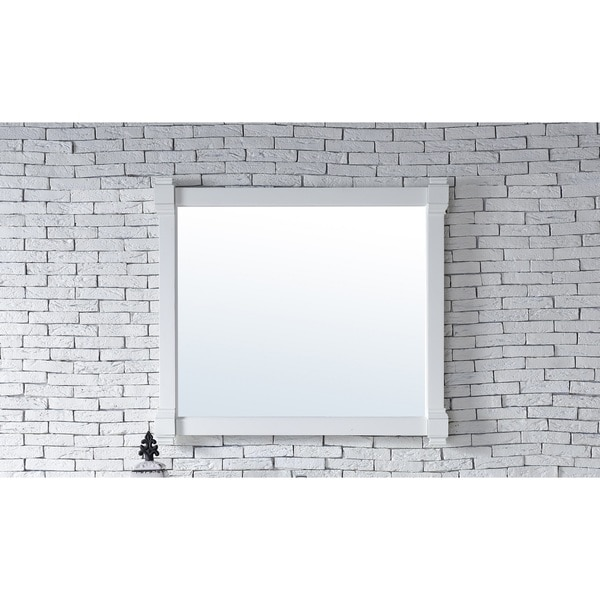 Brittany Cottage White 43-inch Mirror