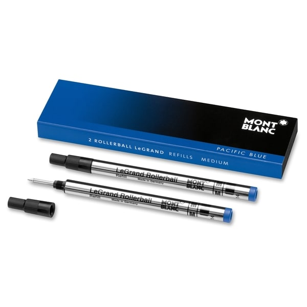 Montblanc Rollerball Pen Refill - Pacific Blue (2/Pack)