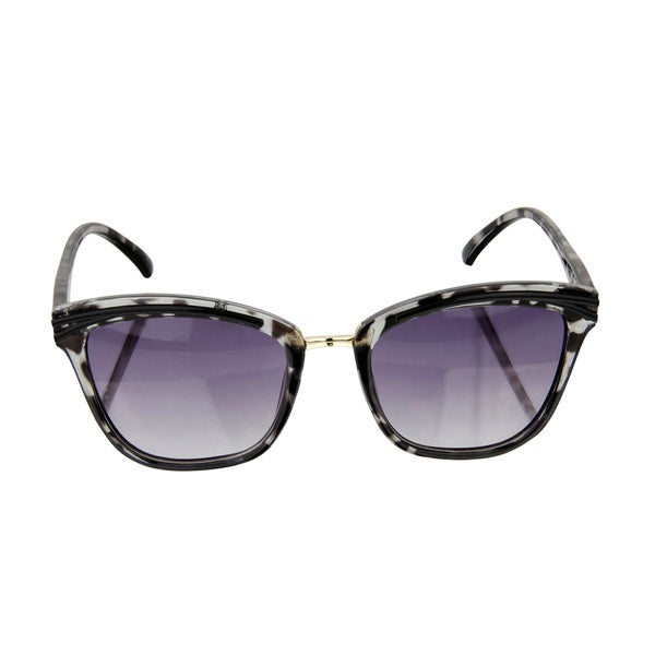 Crummy Bunny Kids UV400 Sunglasses - Black Tortoise Shell Cat Eye Frames