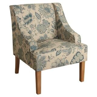 Porch & Den Batterson Swoop Arm Accent Chair
