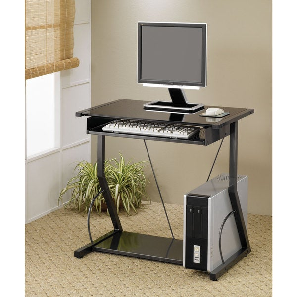 Small Black Computer Desk