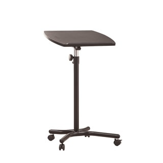 Cherry Finish Laptop Table Stand 16596019 Overstock