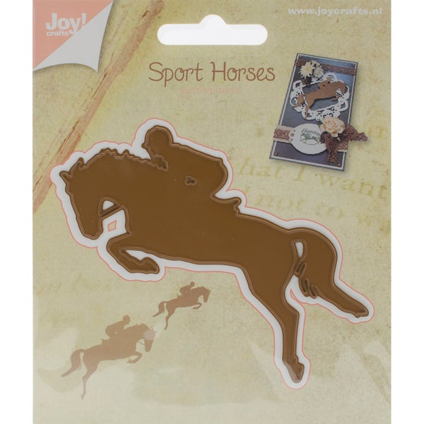 "Joy! Crafts Cutting Die Jumping Horse, 3.66""X3.03"""