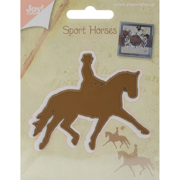 "Joy! Crafts Cutting Die Dressage Horse, 3.18""X2.59"""