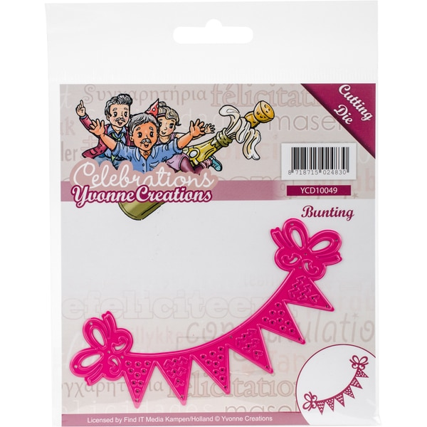 Find It Trading Yvonne Creations Celebrations Die Bunting