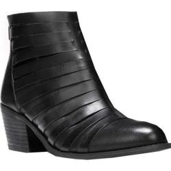 Women's Carlos by Carlos Santana Vanna Ankle Boot Black Leather