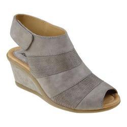 Women's Earth Coriander Wedge Sandal Stone Vintage Leather