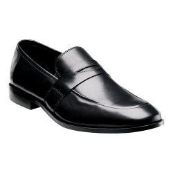 Men's Florsheim Jet Penny Black Smooth Leather