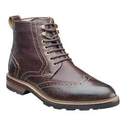 Men's Florsheim Kilbourn Wing Tip Boot Brown Tumbled Leather