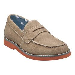 Boys' Florsheim Rodeo Penny Jr. Sand Suede with Brick Sole