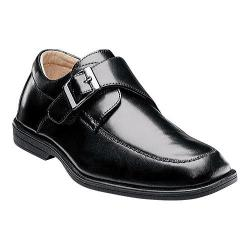 Boys' Florsheim Reveal Monk Jr. Black Smooth Leather