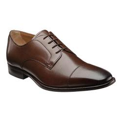 Men's Florsheim Sabato Cap Ox Brown Smooth Leather