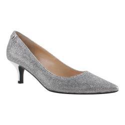 Women's J. Renee Gianna Pump Silver Harlequin Glitter Fabric