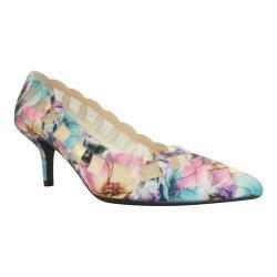 Women's J. Renee Winda Pump Pastel Floral Ice Fabric/Mesh