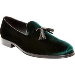 Men's Steve Madden Bway Tassel Loafer Green Velvet