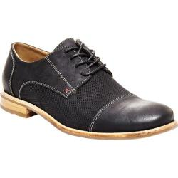Men's Steve Madden Catalyst Cap-Toe Oxford Black Nubuck