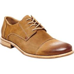 Men's Steve Madden Catalyst Cap-Toe Oxford Tan Nubuck