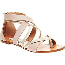Women's Steve Madden Honore Strappy Sandal Blush Leather/Synthetic